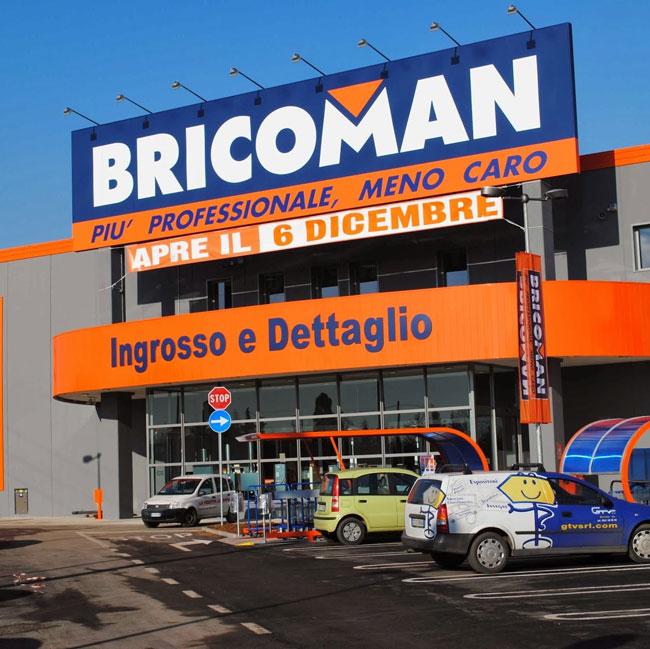 Bricoman caronno p pannelli termoisolanti for Bricoman orbassano orari